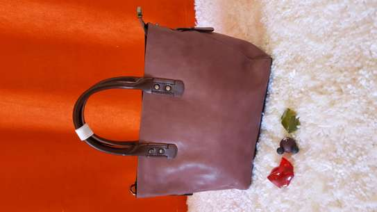 Official  leather handbag
