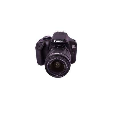 Canon EOS 4000D DSLR Camera and EF-S 18-55 mm f/3.5-5.6 III Lens - Black image 1