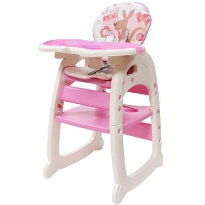 Convertible Baby High Chair/ Feeding Chair - Pink