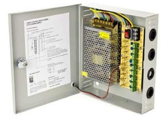 CCTV Power Supply Unit 12V 20 Amps- Open image 1