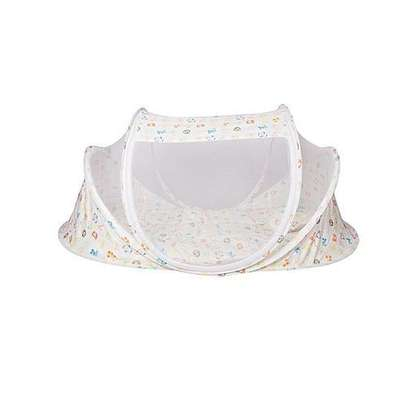 Large Unique new design baby nest / Mosquito net - flowered image 2
