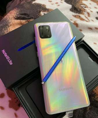 Samsung Galaxy Note 10 Lite 128 Gigabytes On Warranty image 3