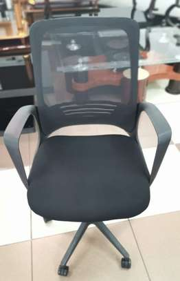 Orthopedic mesh office chair