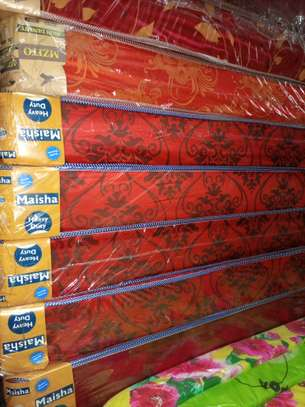Most affordable Queen Size (5 by 6) High Density Mattresses. Free Delivery image 2