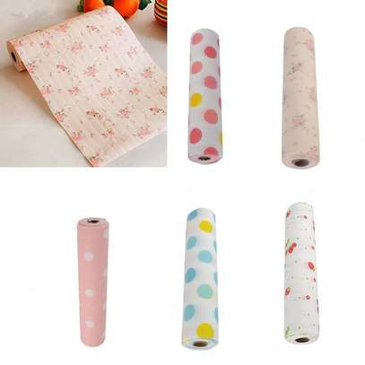 Kitchen cabinet and drawers liners , waterproof re usable Anti-oil Drawer Paper Drawer paper Home Wardrobe Pad Cabinet Mat Kitchen Gadgets Tools-0.3-3Metres long image 9