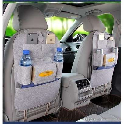Car Seat Organizer Bags-Light Grey