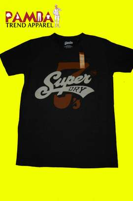 Super Dry Round-neck T-shirt