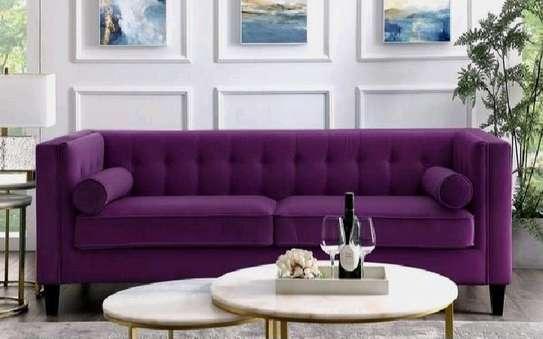 Purple sofas/three seater sofas for sale in Nairobi Kenya/modern sofas/Unique sofa image 2