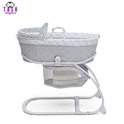 Delta Children Deluxe 2-in-1 Moses Bedside Bassinet Portable Crib image 4