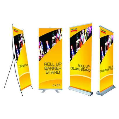 ROLL UP BANNERS, TEARDROPS & X BANNERS