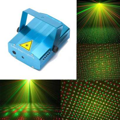 LED Mini Stage Light Laser Projector image 1