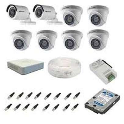 COMPLETE CCTV SET FOR 8 CAMERA image 1