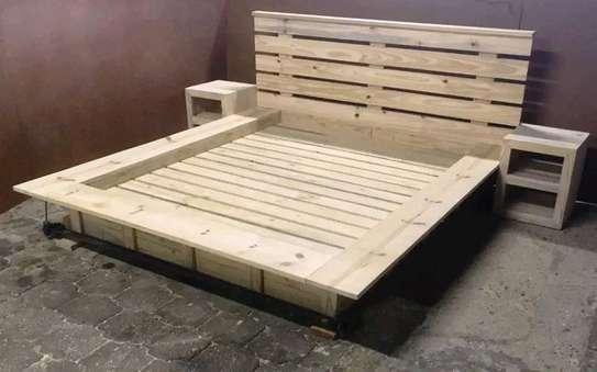 Wooden Queen Beds