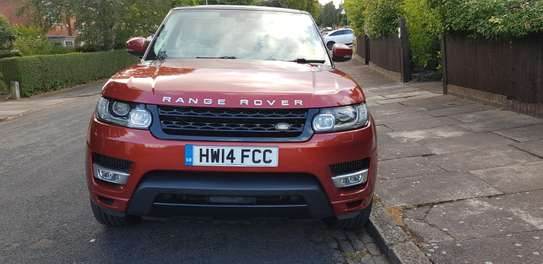 New Land Rover Range Rover Sport 2014 HSE 4x4 (3.0L 6cyl 8A) Red