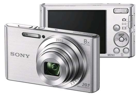 Sony Cyber-Shot Dsc-W830 Digital Camera Silver image 1