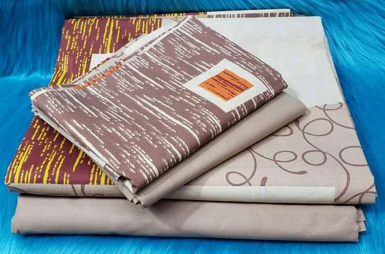 Classy Cotton Bed sheets(6pcs) image 2