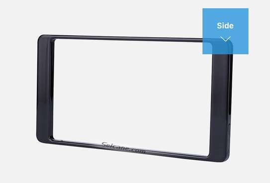 Double Din Car Radio Fascia Console For 2014 Mitsubishi Outlander. image 2