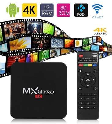 MXQ Pro Smart 4K Android TV Box Amlogic Quad Core 1GB RAM 8GB ROM – Black image 4