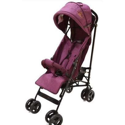 Purple/pink lightweight Foldable Baby Stroller/ pram/push chair/ buggy