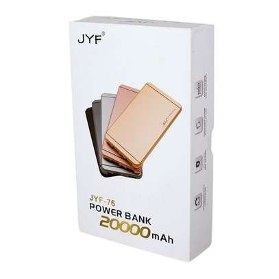 JYF Power Bank 20,000 Mah - Super Slim Design With Polymer Battery image 1