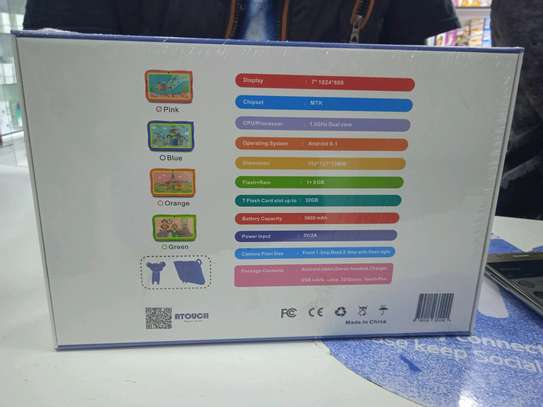 Kids Tablets Offer 8gb 1gb ram 3000mAh Battery- 7 inch tablets image 2