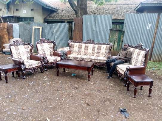 7seater antique sofa image 3