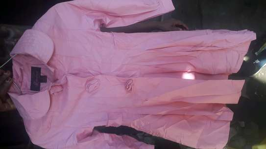 Pink dress top image 1