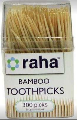 Raha Bamboo Tooth Picks 300s image 1