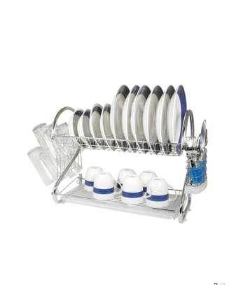 Double Tier Dish Rack image 1
