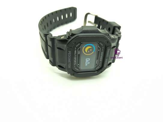 Sports Pedometer Smartwatch with heart rate monitor, calorie counter, sleep monitoring, sedentary reminder image 1