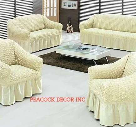 Generic 1/2/3 Seater Home Soft Elastic Sofa Cover image 2