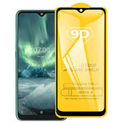 5D HD Clear Tempered Glass Front Screen Protector for Nokia 7.2 image 3