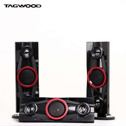 TAGWOOD LS-631A Multimedia Speaker System 3.1CH Black image 2