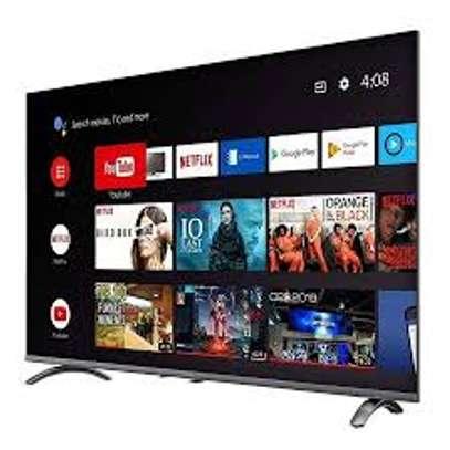 "Syinix 43"" Smart Android Full HD TV, A20 Series, Chromecast, Black image 1"