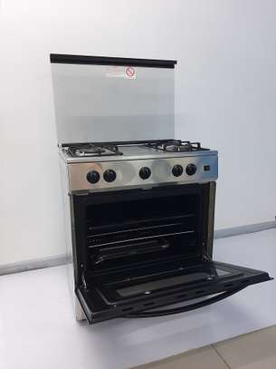 Logik 4burner gas cooker KZ7604SS