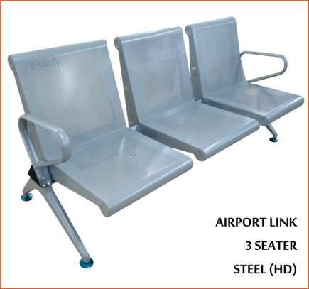 airport link 3 seater chair