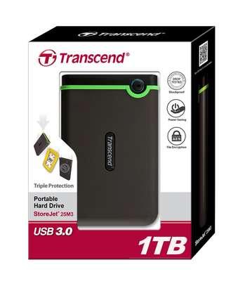 Transcend 1TB External Hard Disk(SEALED) image 1