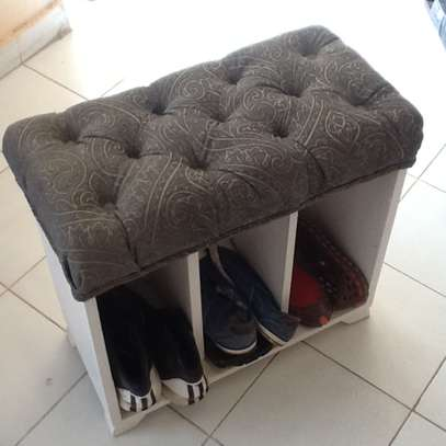 Shoe Storage and seat in one.