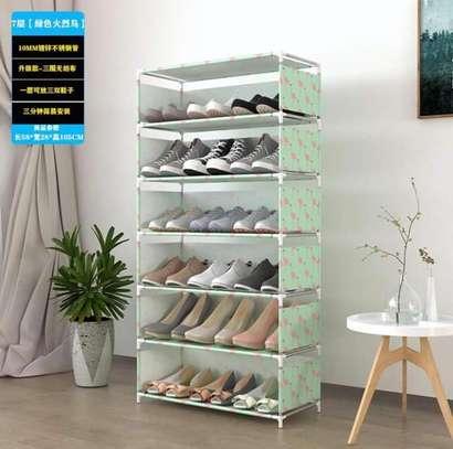21 pairs Shoe racks image 2