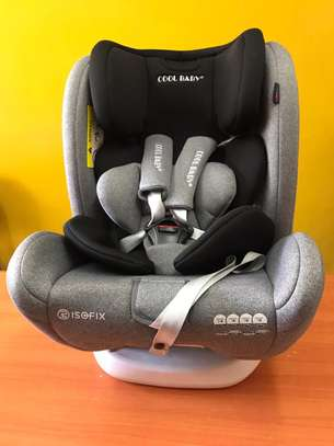 Cool Baby Car Seat - Black and Grey