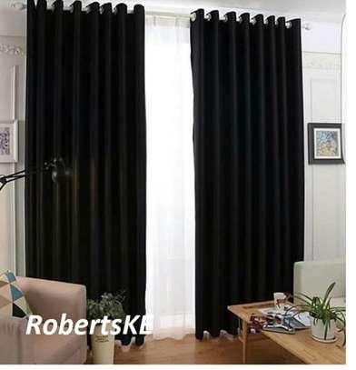 black curtains image 1