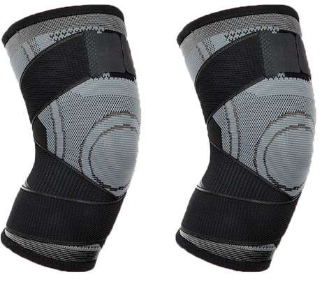 Pressure Knitting Knee Protector for Running and Fitness image 1