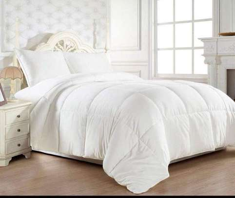 4 PC WHITE PURE  COTTON BED SHEET