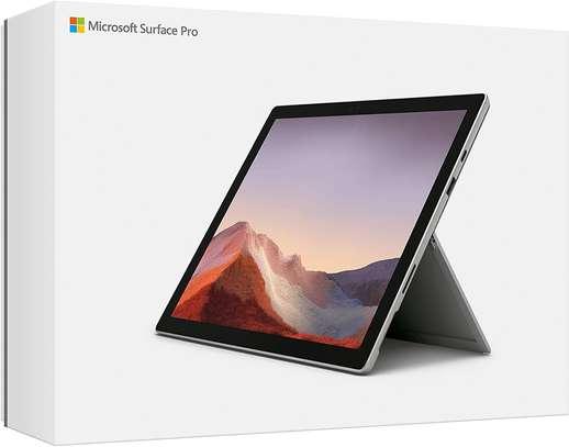 "NEW Microsoft Surface Pro 7 – 12.3"" Touch-Screen - 10th Gen Intel Core i5 - 8GB Memory - 128GB SSD (Latest Model) – Platinum image 1"