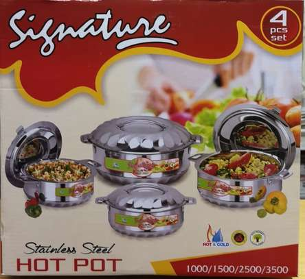 Insulated Hot pots