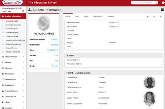 School Management  ERP System image 8