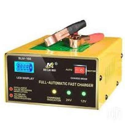 Car Battery Charger 150V/250V To 12V 24V Smart Fast Power Charging image 1