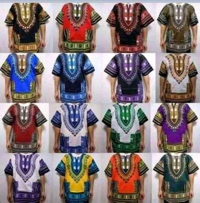 Unisex dashiki shirts image 3