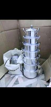 Tornado 14pcs alluminium cookware image 1