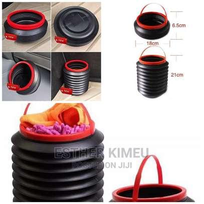 Multi-Purpose Collapsible Car Bucket Trash image 1